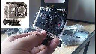 4K Action Camera WiFi Waterproof Camcorder Urdu Review Pakistan