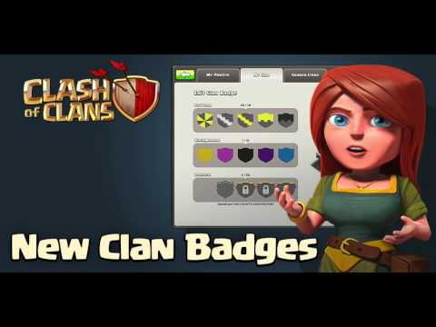 Clash Of Clans - Customizable Clan Badges! (New Update)
