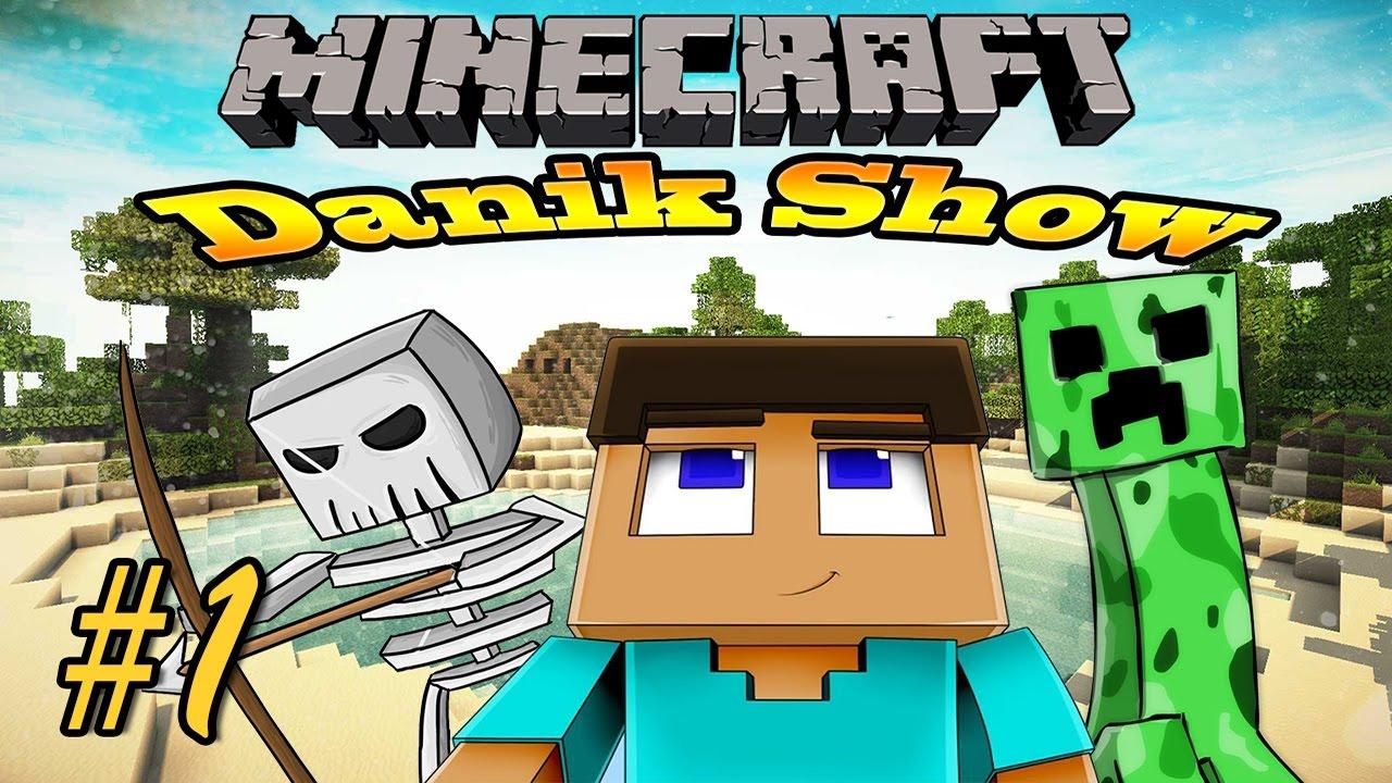 Danik Show - Майнкрафт игрушки. Видео Обзор для Детей ...