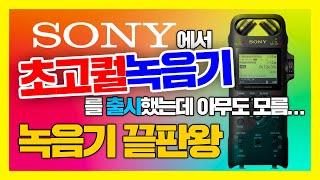 SONY PCM D10, 소니에서 초고퀄 녹음기. 귀를…