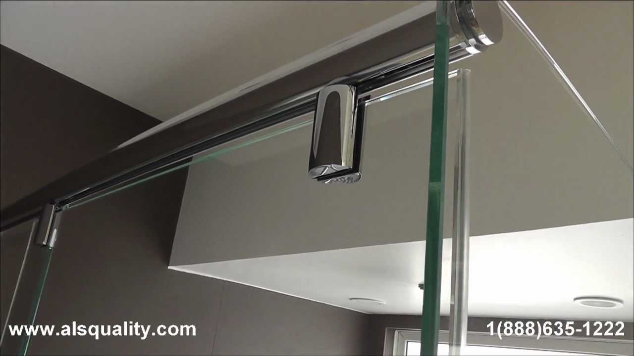 Hydroslide Frameless Sliding Shower Door Miami Dade Fl Hd