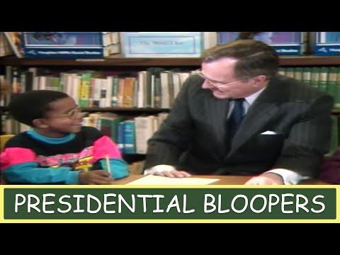 Presidential Bloopers - JFK, Bill Clinton, George Bush, Ronald Reagan, Richard Nixon and More