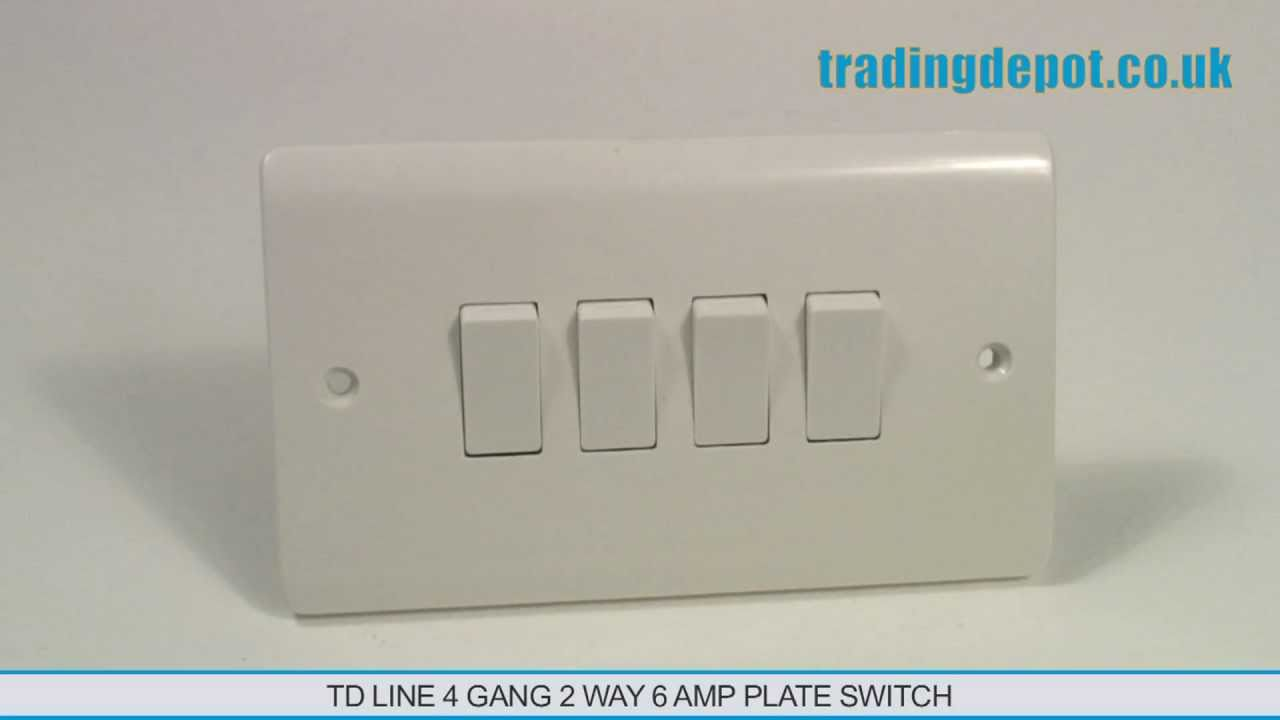 Gang Way Light Switch Wiring Diagram on