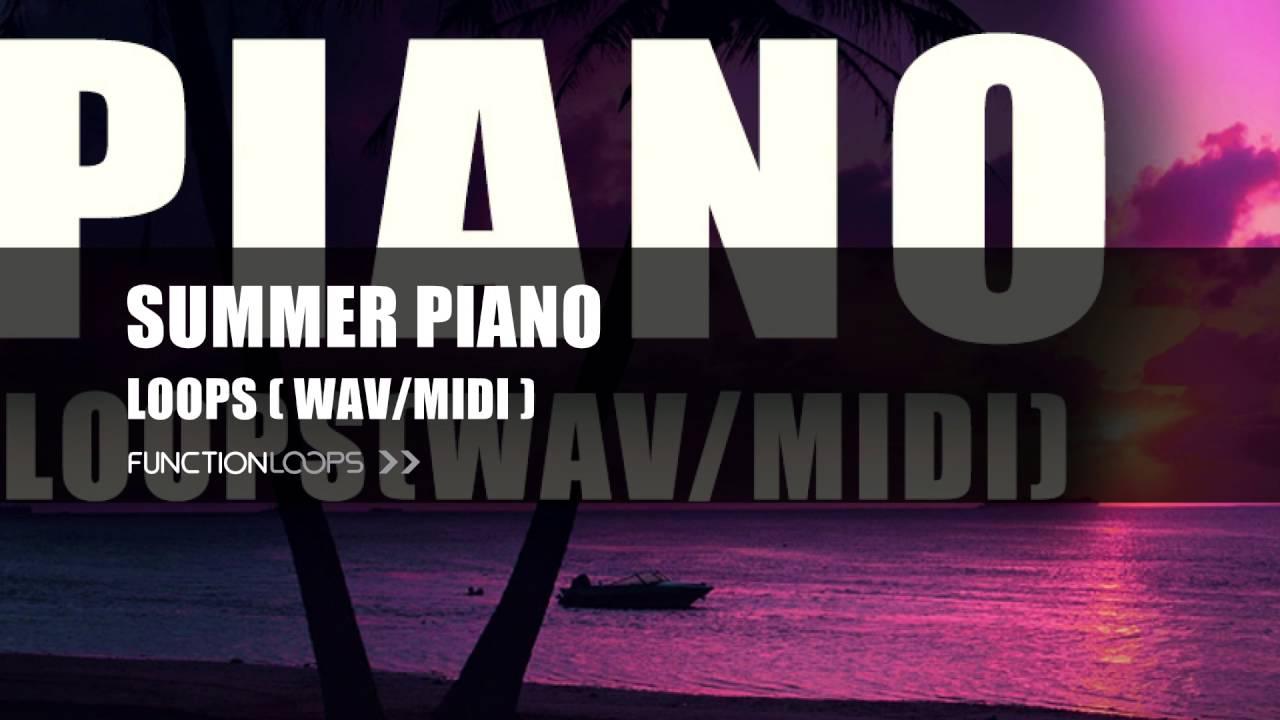 Free Piano Sample Pack | Free Piano Loops | Piano Samples & MIDI Loops |  FREE DOWNLOAD