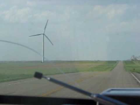 Wind Farm / Storm Chasing in South Dakota
