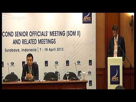APEC SOM II - PRESS CONFERENCE, DR DENNIS HEW, CURRENT ECONOMIC TRENDS IN THE ASPAC (17-04-2013)