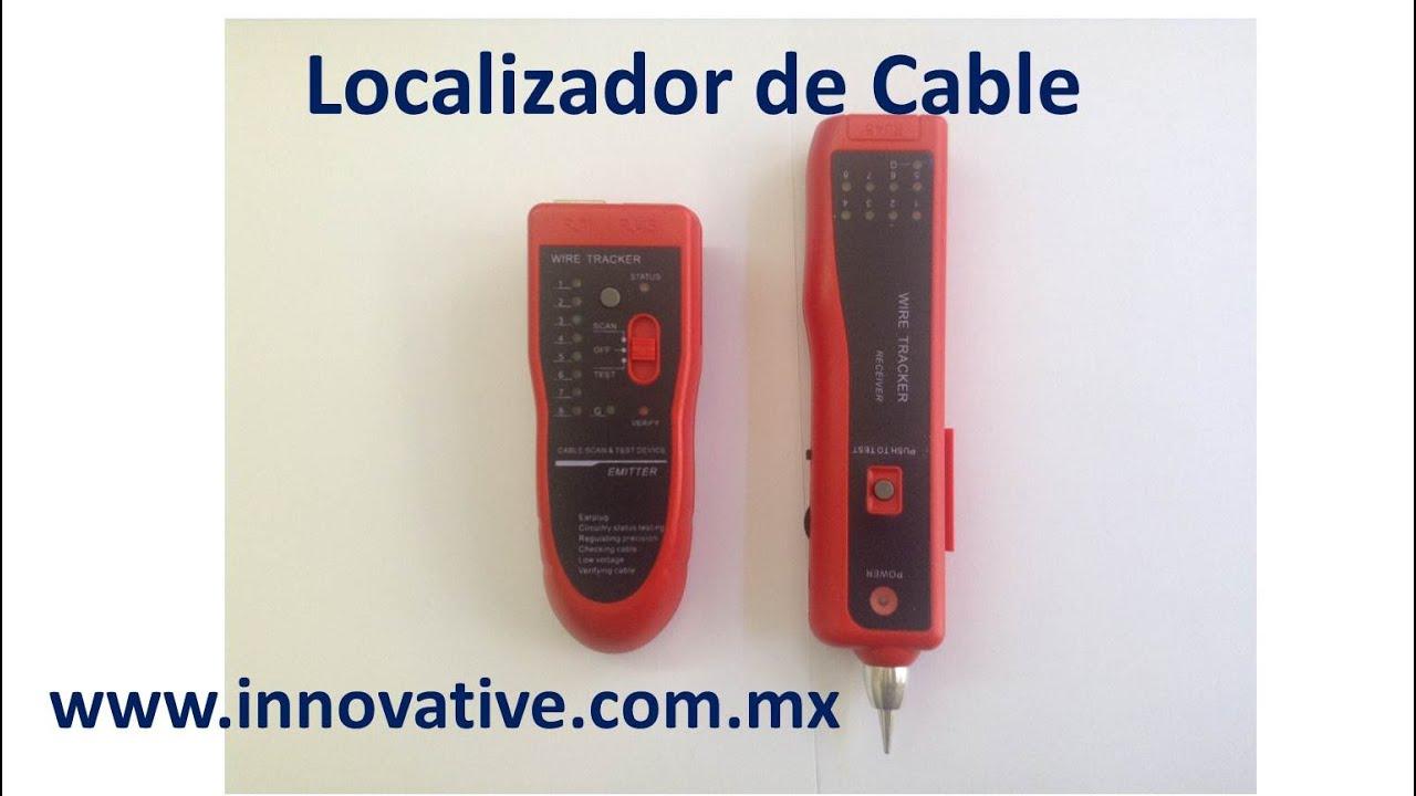 Localizador De Cable By Innovativetrade Open Circuit Using A Fluke 2ac Noncontact Voltage Detector Youtube
