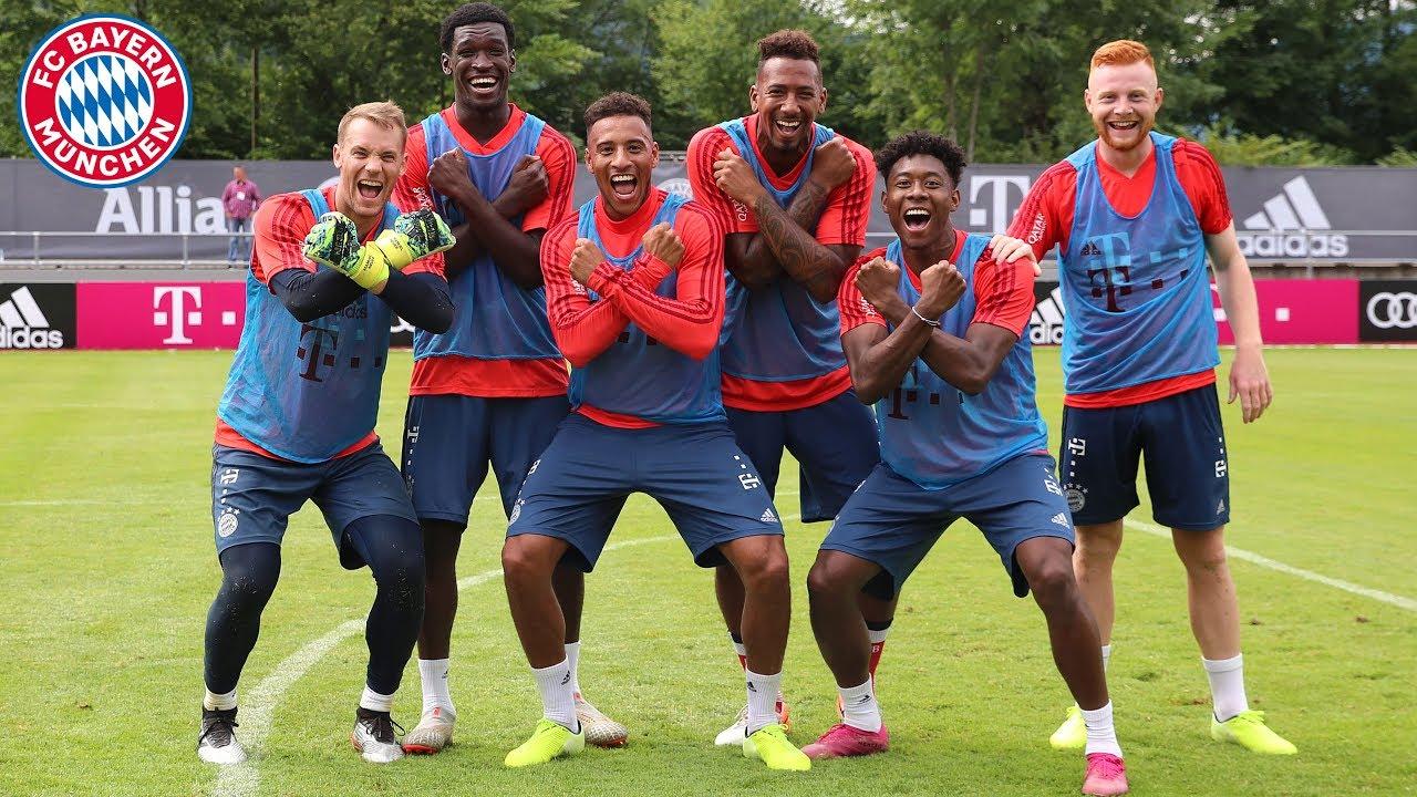 Dribbling & Shooting | FC Bayern Team Challenge