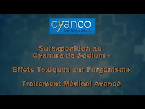 un empoisonnement au cyanure module 3 français cyanide surexposition traitement médical avancé