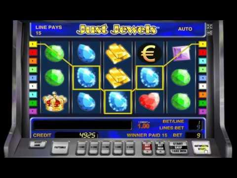 Игровой автомат Just Jewels от Novomatic