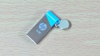 HP v215b USB Flash Drive - Unboxing & Quick Review - 16gb - comes with free Norton Antivirus