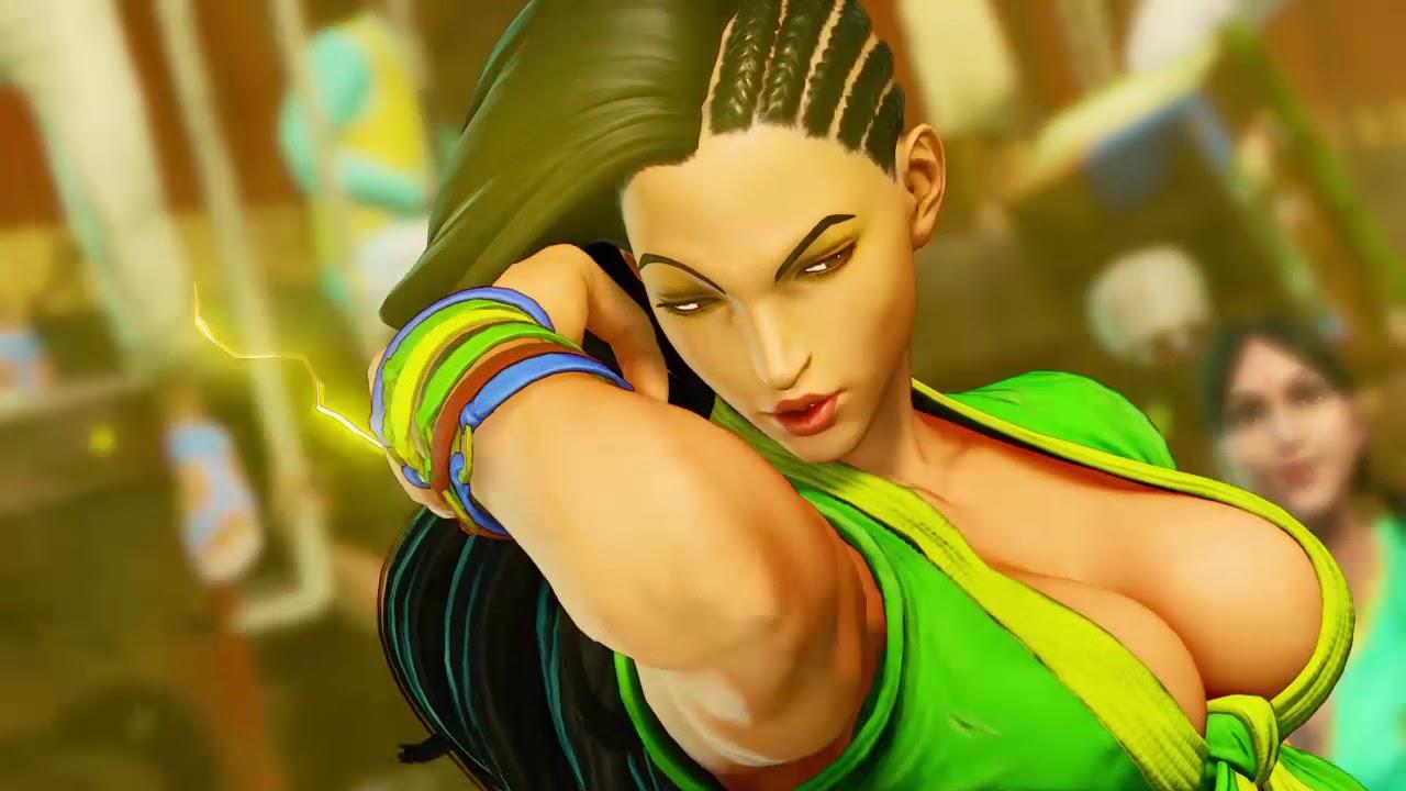 Playa-V (Laura) Vs NagaSiren (Chun Li) SFV Street Fighter V
