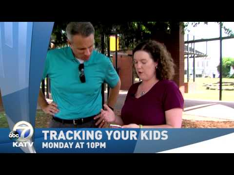 Channel 7 - Kid Trackers, do they work? Monday on Channel 7 News at 10.
