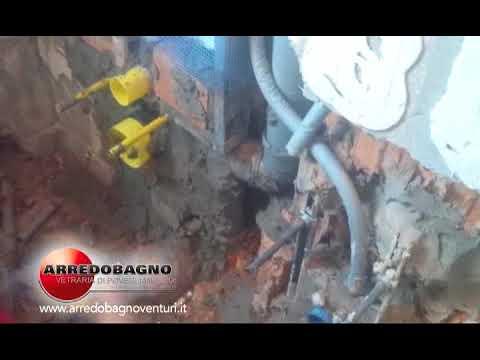 arredobagno venturi: rifacimento totale bagno - youtube - Arredo Bagno Povegliano