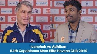 Vassily Ivanchuk vs Baskaran Adhiban: 54th Capablanca Mem Elite Havana CUB 2019