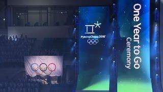 Pyeongchang inicia cuenta regresiva para Juegos de Invierno 2018