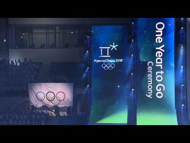 Pyeongchang inicia cuenta regresiva para Juegos de Invierno 2018 #1