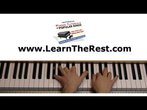 How to Play Fireflies by Owl City Piano Tutorial