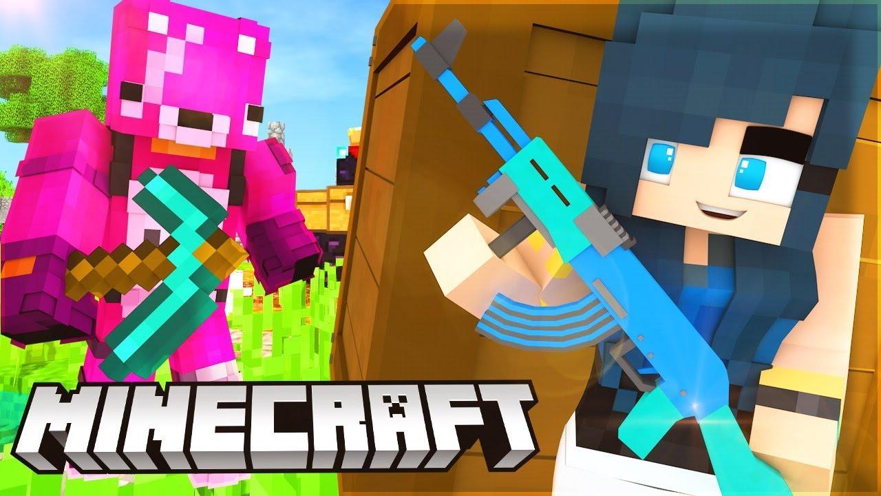 Fortnite Battle Royale In Minecraft
