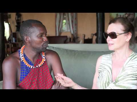Dee Tome, Maasai tribe member  Ask The Expert with Dr. Ava Cadell