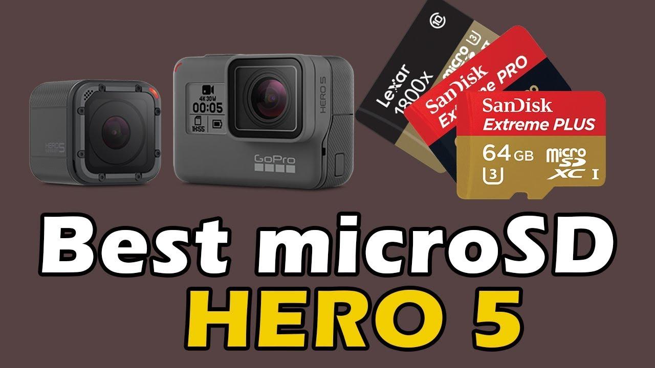 carte sd gopro hero 5 Best Memory Card for GoPro Hero 5 Black & Hero 5 Session   YouTube
