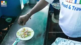 UTTAPPAM MAKING | DOSA LIKE PIZZA | BREAKFAST RECIPES IN INDIA