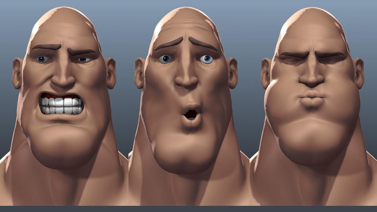 3d Facial Image