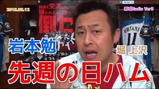 【日ハム】岩本勉が先週のファイターズの試合を振り返る 上沢 堀 20180812