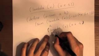 Построение процедур с помощью lamda. [СИКП/SICP], урок 12