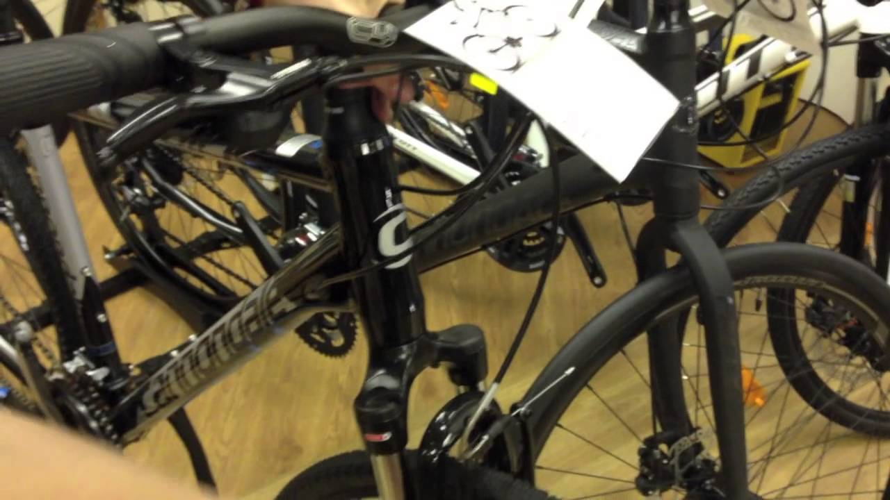 0d07f65d635 ALANS BIKES: Bike of the Week Cannondale Quick CX 3 2013 - YouTube