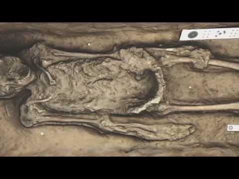 Jamestown Chancel Burial C 3046C 3D Render Pan