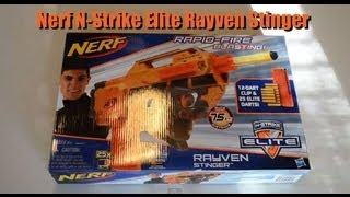 ~Unboxing~ Nerf N-Strike Elite Rayven Stinger Unboxing Video ~Unboxing~