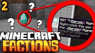 UNLOCKING OP GOD KIT! | Minecraft Factions (Cosmic PvP Ice Server) - #2