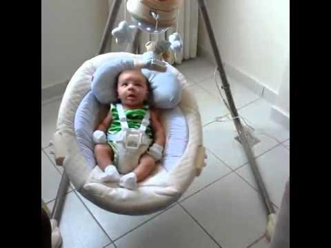Cadeira De Balanço Musical Bebe Fisher Price - YouTube