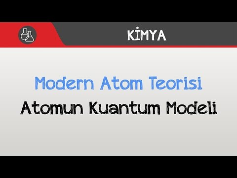 Modern Atom Teorisi - Atomun Kuantum Modeli