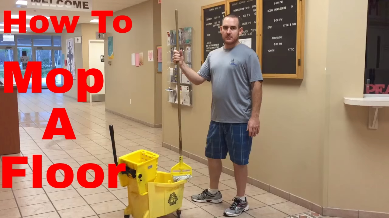 How To Mop A Floor The Right Way You