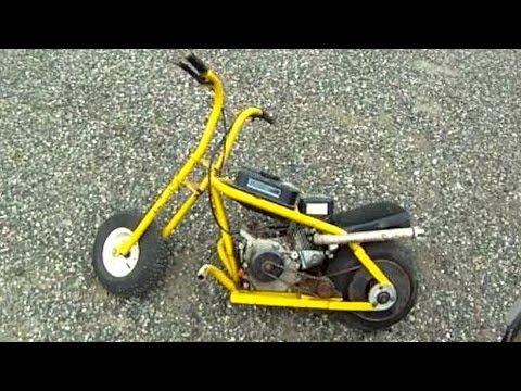 Home made go kart youtube - Homemade Mini Bike Gopro Youtube