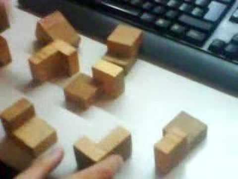 Cubo de madera soluci n 01 youtube - Cubos de madera ...