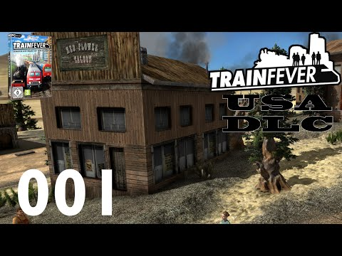 TRAIN FEVER ► #001 - USA DLC Stream 1/3 ► Let's Play Train Fever USA DLC