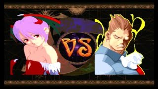 Darkstalkers 3 - Lilith Arcade Mode