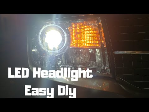 How To Install LED Bulbs || Lincoln MKX FORD EDGE