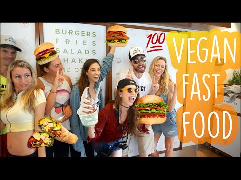 Vegan Fast Food Revolution