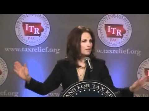 Michele Bachmann Iowa Speech   Bachmann Founders Ended Slavery   Mediaite