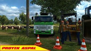 ETS 2 ISUZU GIGA Dump Truck | Proyek Aspal Jalan Raya