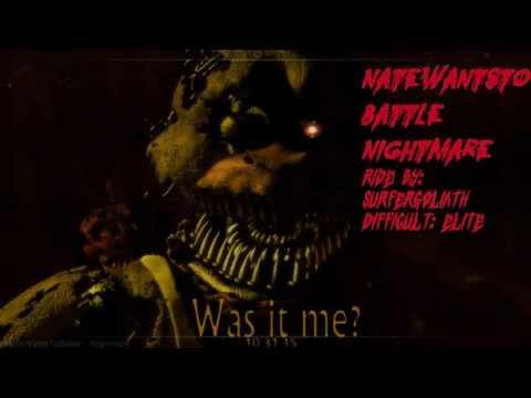 [AudioSurf] NateWantsToBattle Nightmare Five night's freddy's 3 song Difficult Elite [Download Mp3]