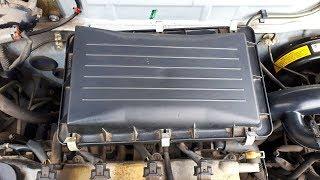 Démonter la boîte à air de sa Nissan Micra k11