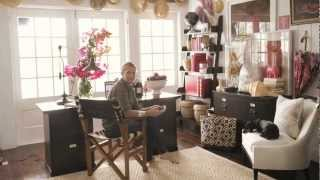 Stylist India Hicks Home Office Design | Pottery Barn