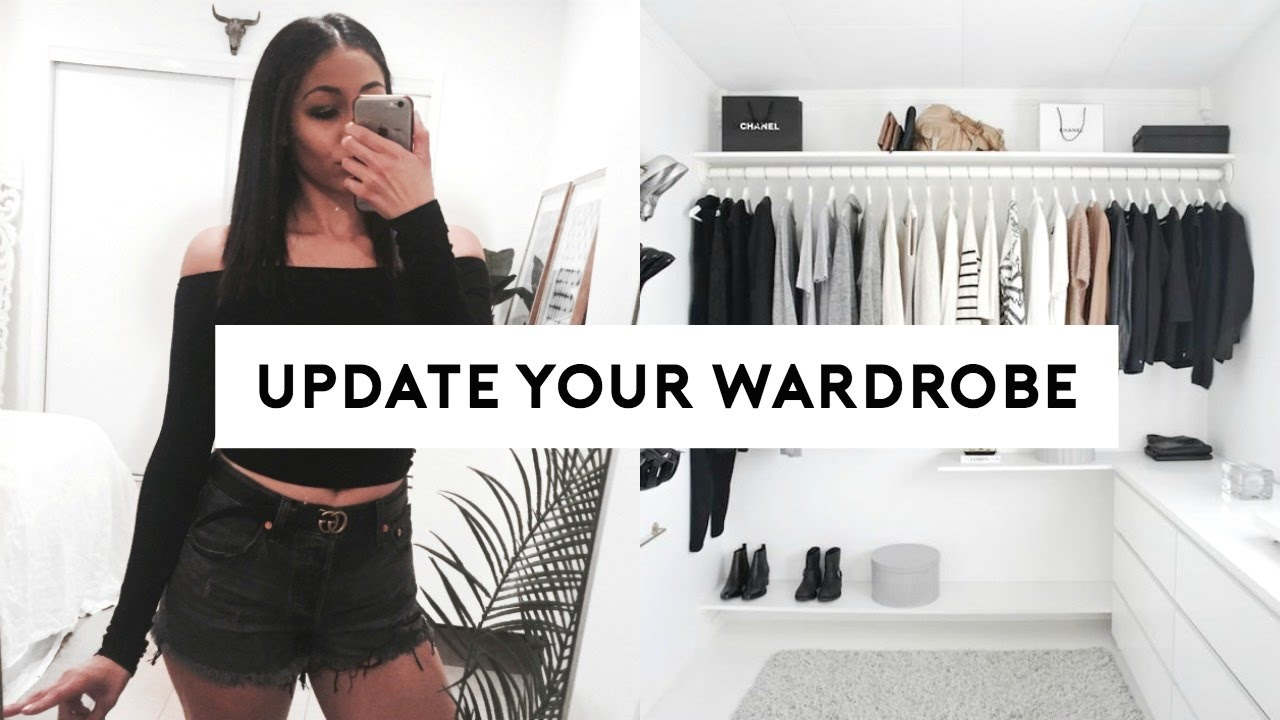 How To Update Your Wardrobe On A Budget! 5 EASY TIPS!   YouTube