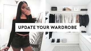 How To Update Your Wardrobe On A Budget! 5 EASY TIPS!