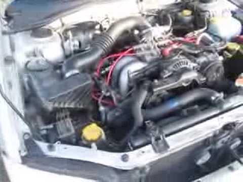 2002 Subaru Legacy EJ25 to EJ22 engine conversion